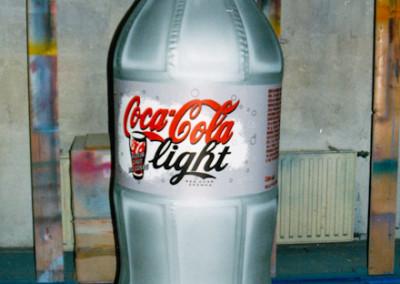 nafukovací lahev CocaCola
