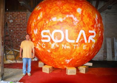 nafukovací koule SOLAR