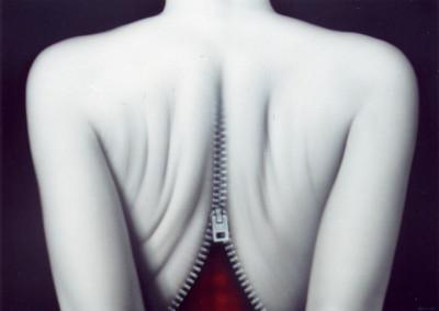 Rozepnutá (65 x 90 cm)