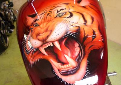 Tygr nádrž