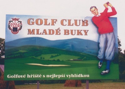 Billboard Golf club