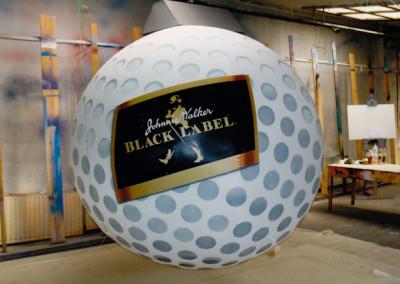 nafukovací golfový míček