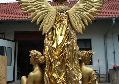Anděl pro muzikál Fantóm opery - spolupráce s J.Pirklovou