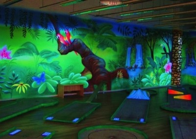 UV malba JUNGLE GOLF