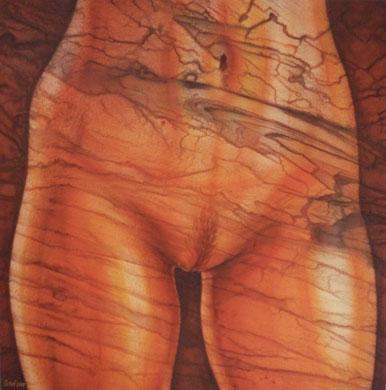 Mramorový akt (60 x 60 cm)