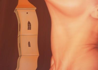 2 věže (80 x 64 cm)